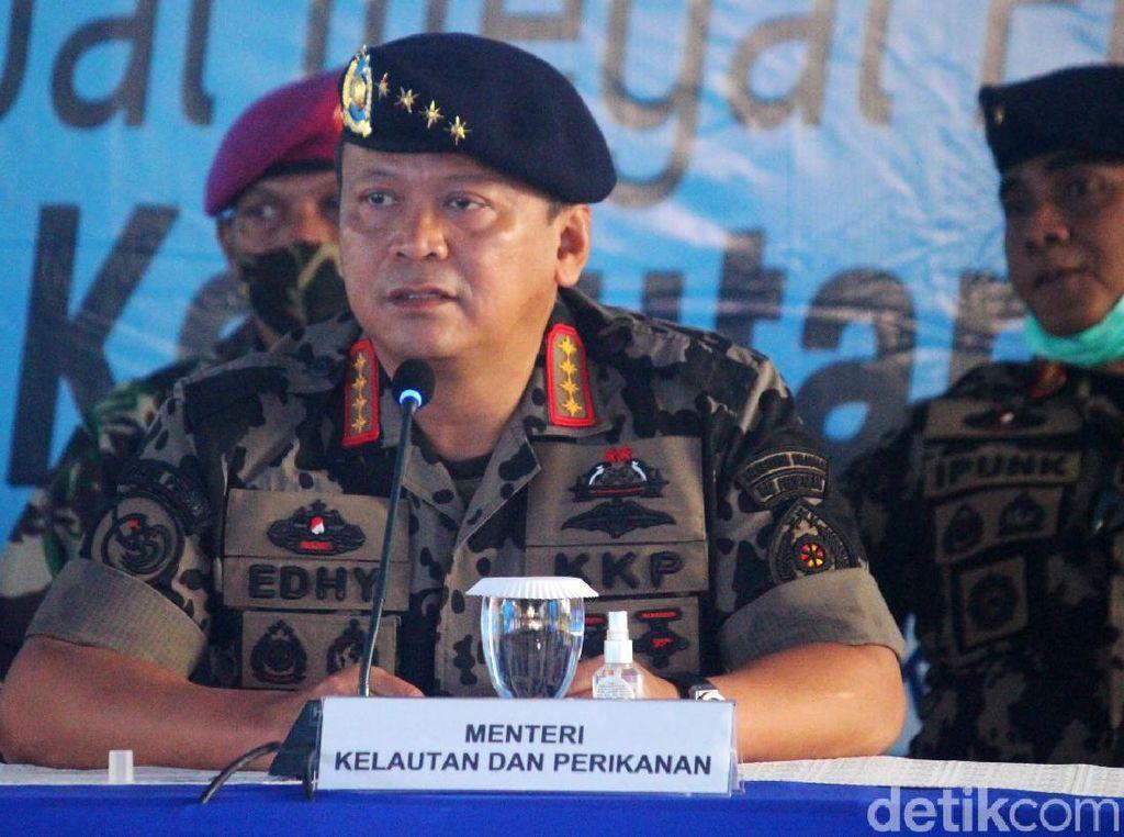 Edhy Prabowo Ogah Tenggelamkan Kapal Maling Ikan