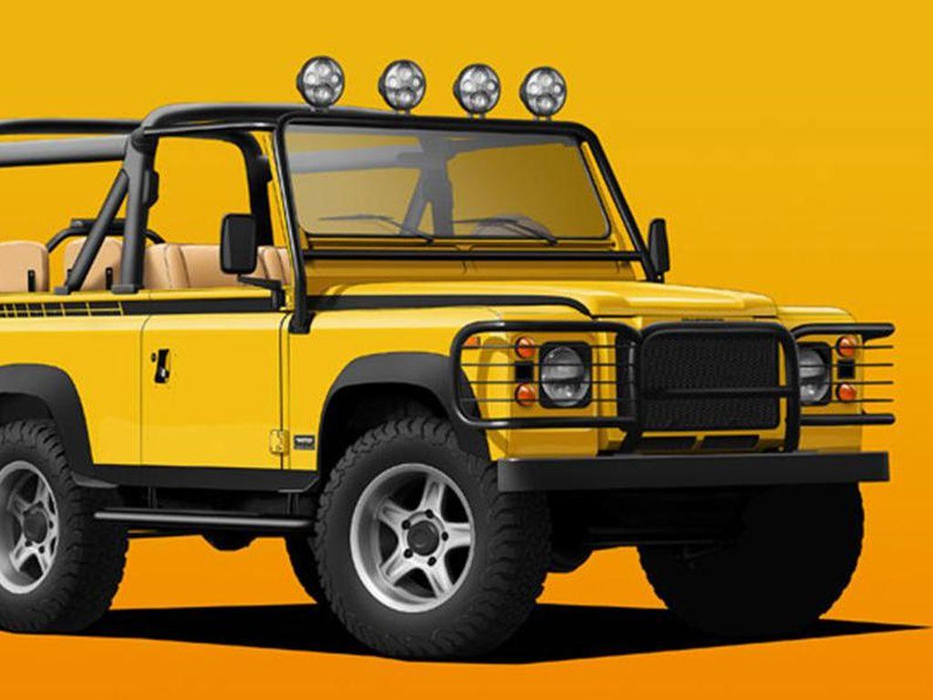 Seksi, Land Rover Defender Jadi Listrik