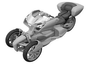 Lucu Gak Sih, Motor 3 Roda Hybrid Yamaha Ini?