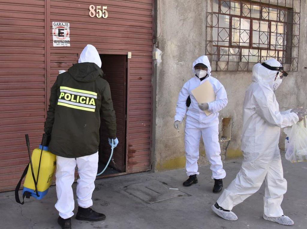 Ratusan Mayat Pasien Corona Ditemukan di Jalan dan Rumah-rumah Bolivia
