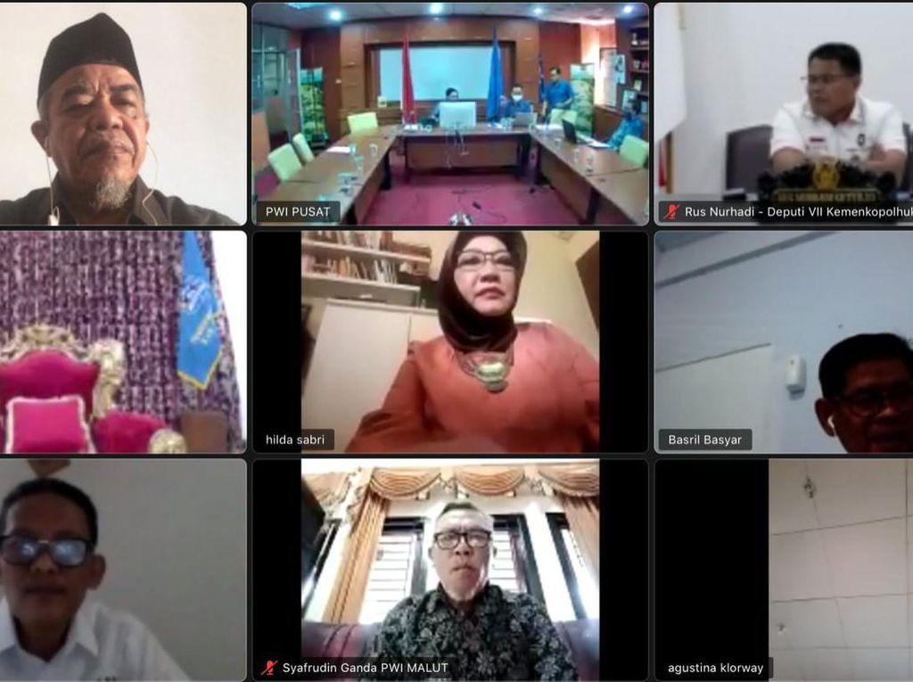 PWI Pusat Gelar Webinar Bahas Otsus Papua