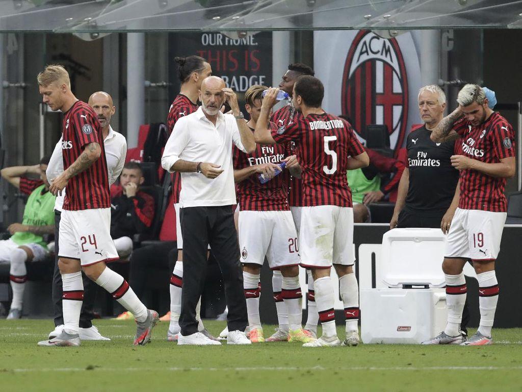 Pioli Sedih Liga Italia Musim Ini Segera Berakhir