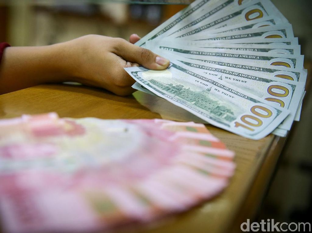 Dolar AS Pagi Ini Masih Betah di Rp 14.050