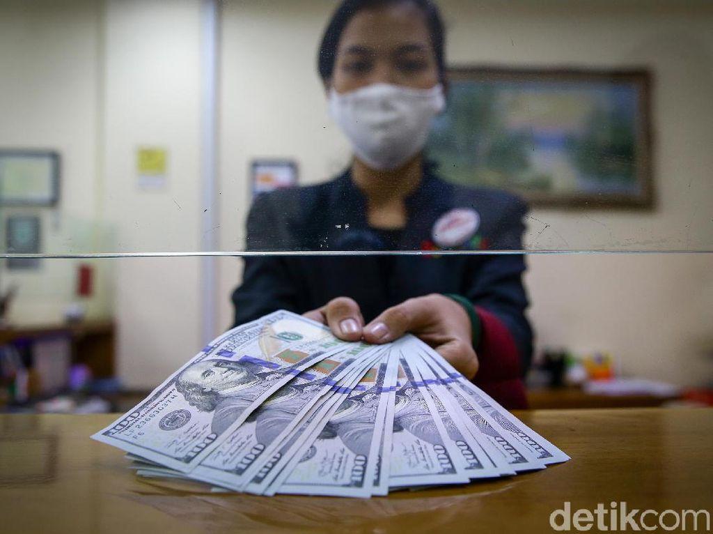 Dolar AS Menguat ke Level Rp 14.600-an