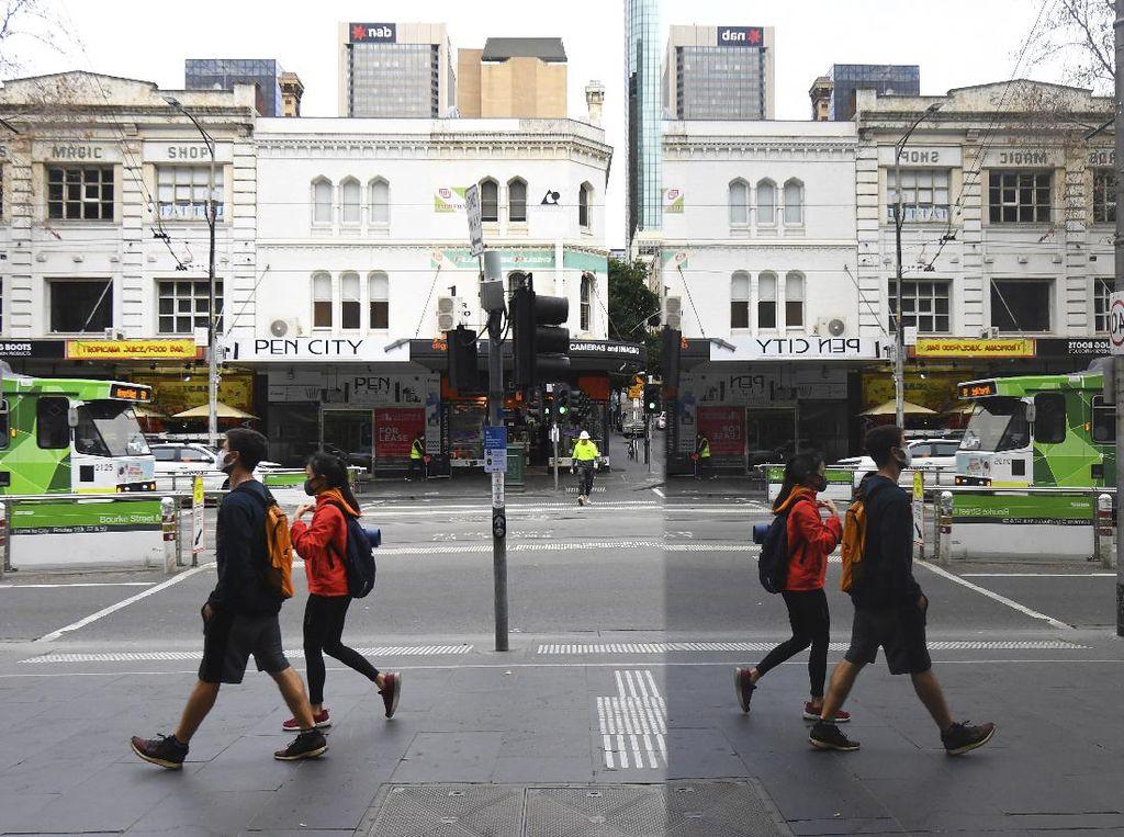 Kasus Corona di Melbourne Turun, Aturan Jam Malam Dicabut
