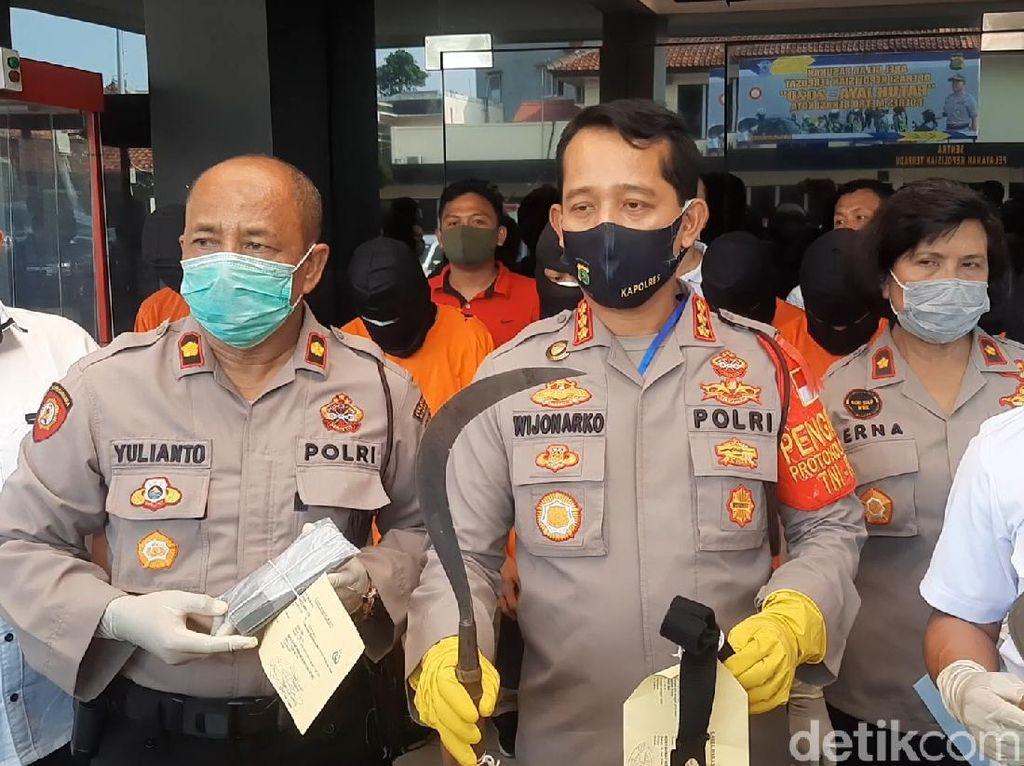 Tawuran Pelajar di Bekasi, 1 Tewas, 8 Orang Diamankan