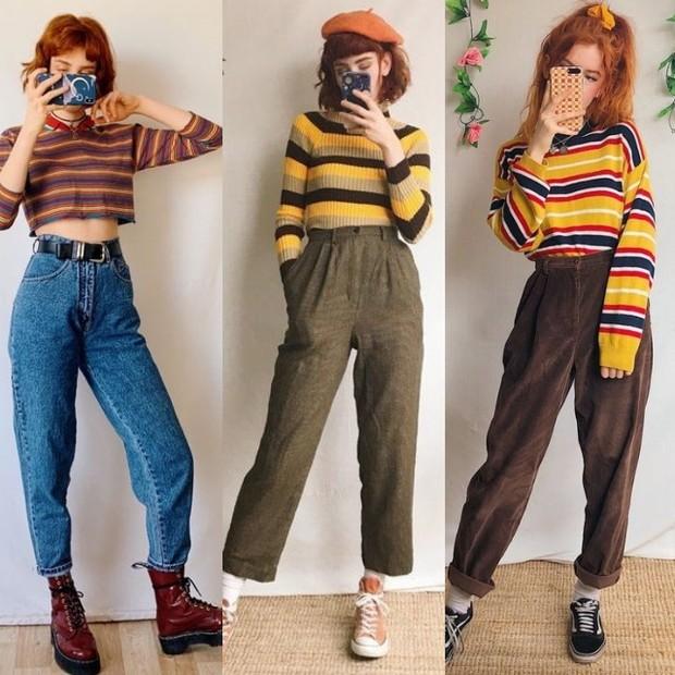 Gaya fashion ala vintage