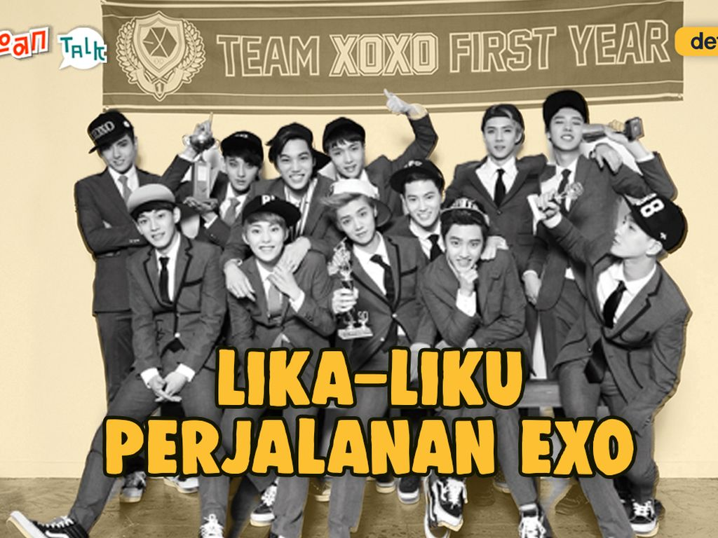 K-Talk Spesial Throwback: EXO dari Masa ke Masa