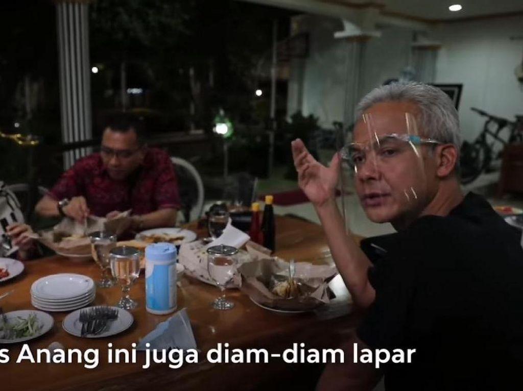 Ganjar Pranowo Sajikan Kepala Manyung dan Tahu Gimbal Buat Anang-Ashanty