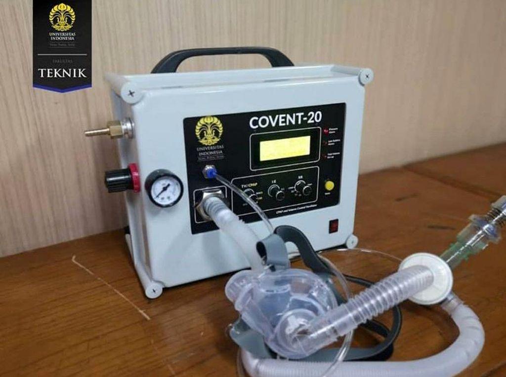 Begini Penampakan Ventilator COVENT-20 Buatan FT UI