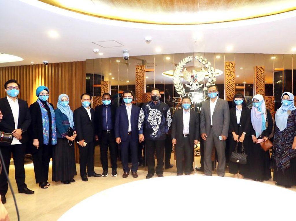 Ketua MPR Dorong Partai Gelora Tingkatkan Kualitas Parpol RI
