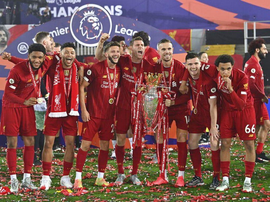 Setelah Taklukkan Eropa dan Dunia, Liverpool Jadi Raja Inggris