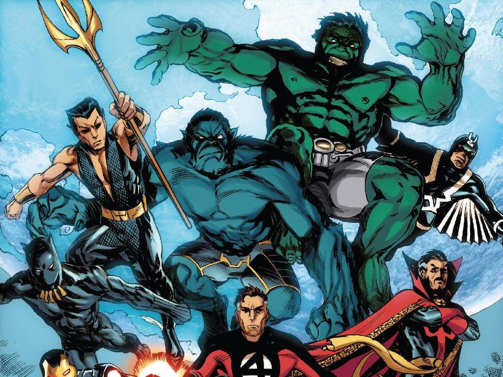 Rumor Illuminati Jadi Proyek Terbaru Marvel