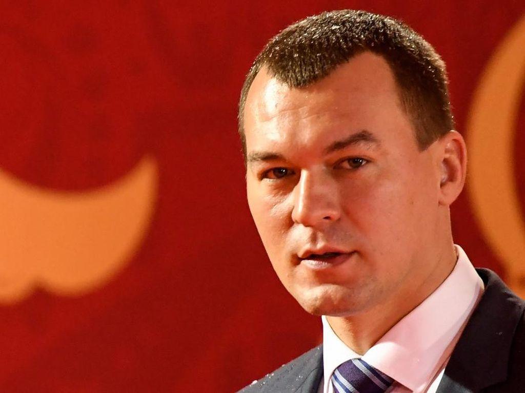 Didemo Warga, Gubernur Rusia yang Ditunjuk Putin Ogah Mundur