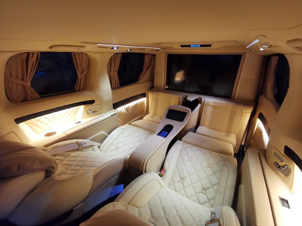 Sultan! Modifikasi Toyota Alphard dengan Nuansa Kabin Ala Private Jet