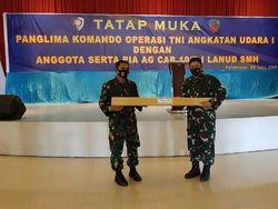 Pangkoops AU Minta Lanud Palembang Selalu Siap Antisipasi Karhutla-Corona