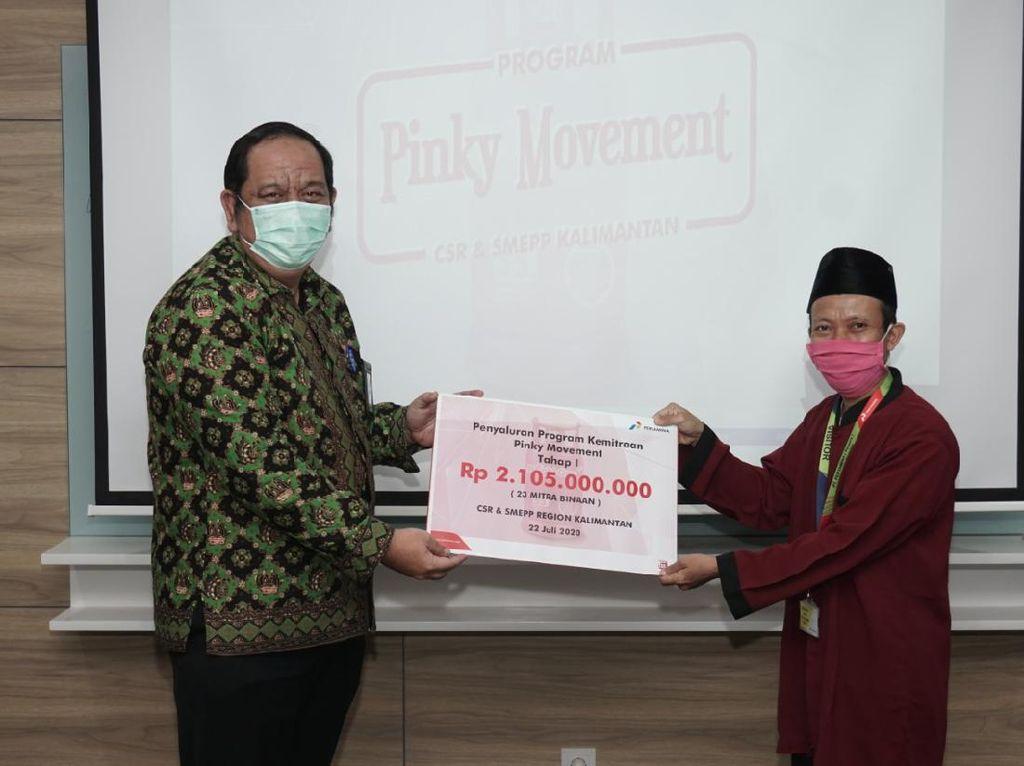 Pertamina Beri Bantuan Modal Rp 2 M untuk Agen LPG di Kalimantan
