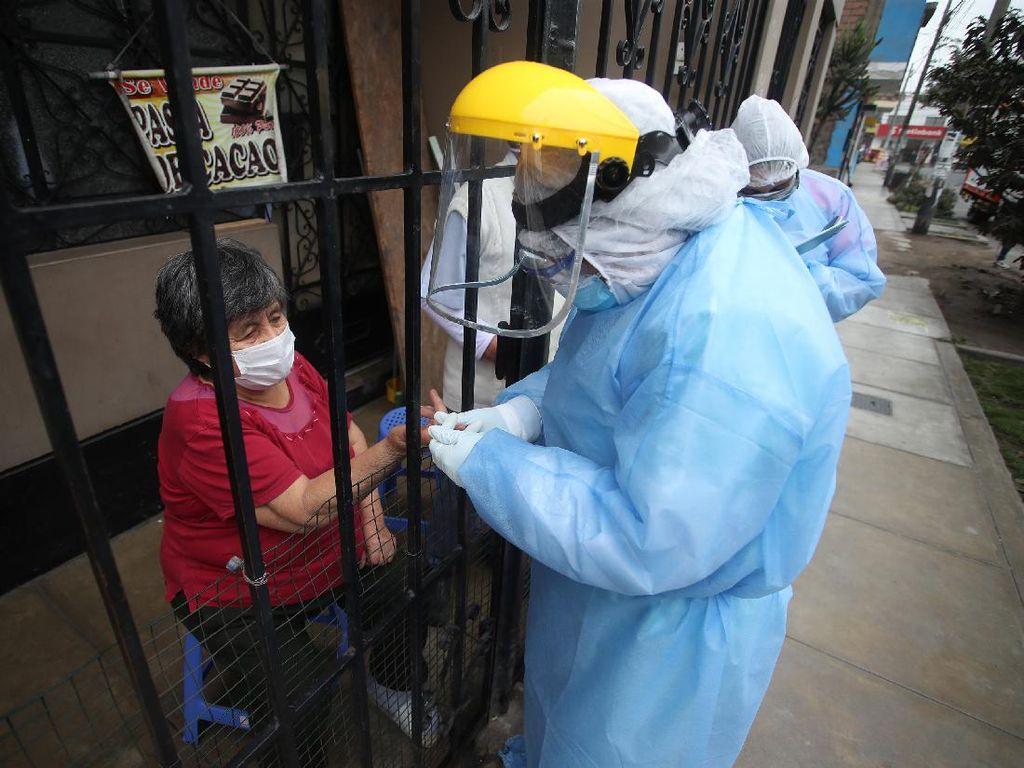 Rapid Test di Peru Digelar Door to Door