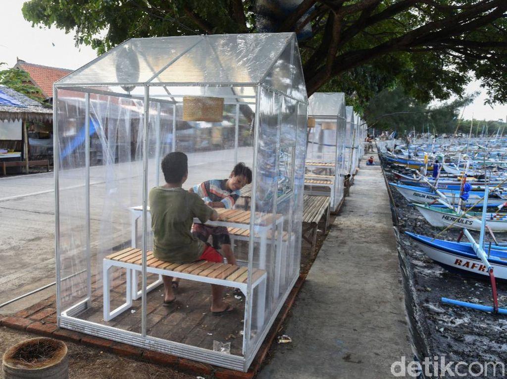 Ada Pondok Transparan di Sentra Kuliner Ikan Segar Banyuwangi, Apa Fungsinya?