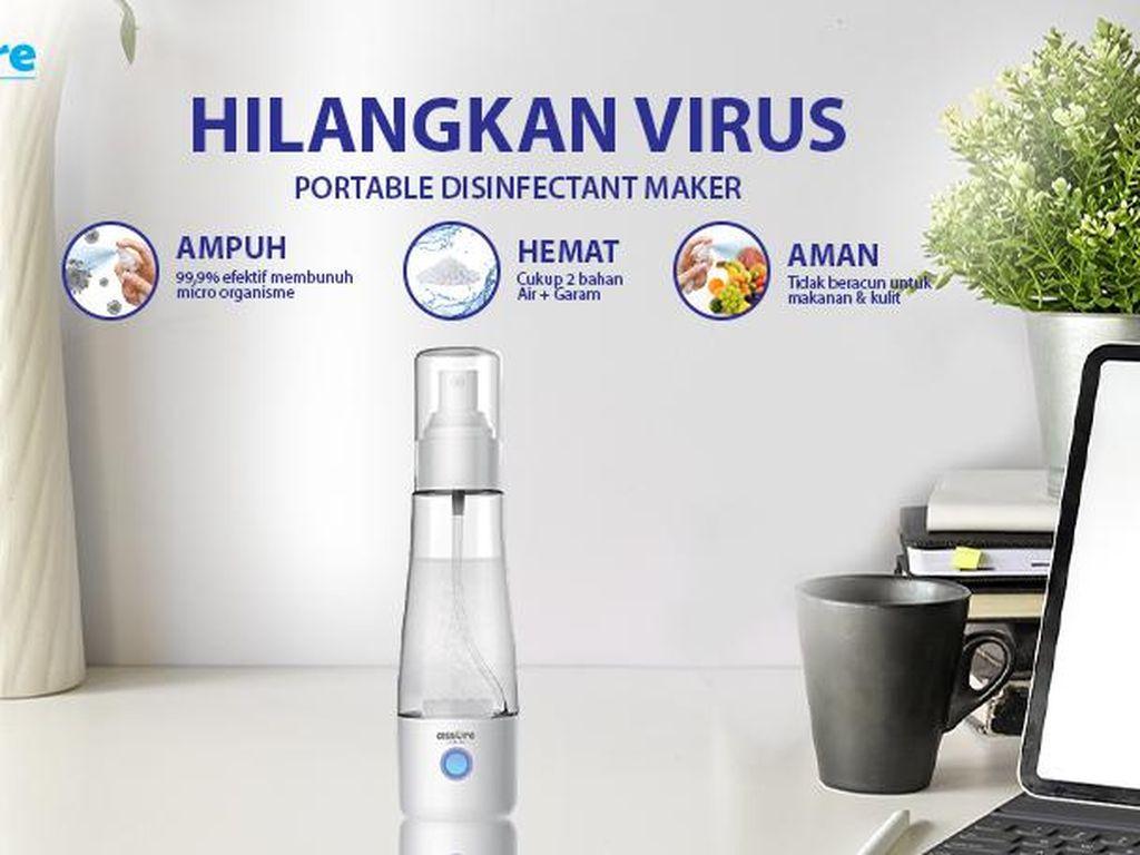 Assure Kembangkan Pembuat Disinfektan-Thermo Gun Pintar Cegah Corona