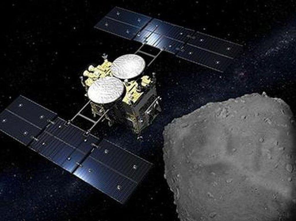 Misi Asteroid Jepang Bersiap Mudik ke Bumi