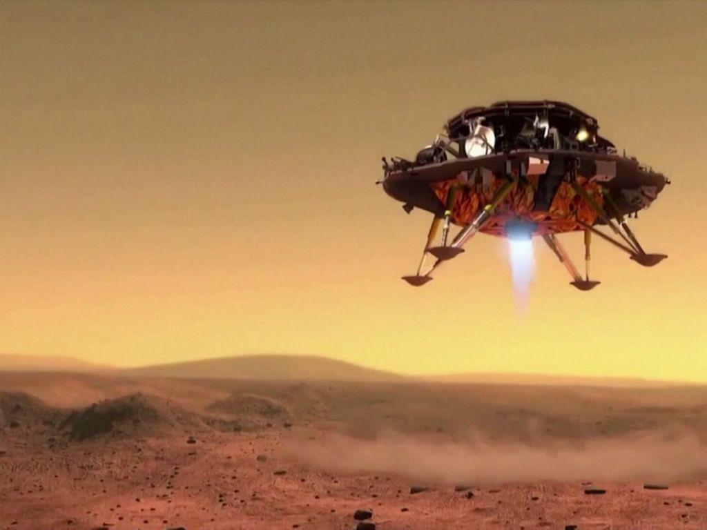Luncurkan Misi ke Mars, Bisakah China Susul Kesuksesan Amerika?