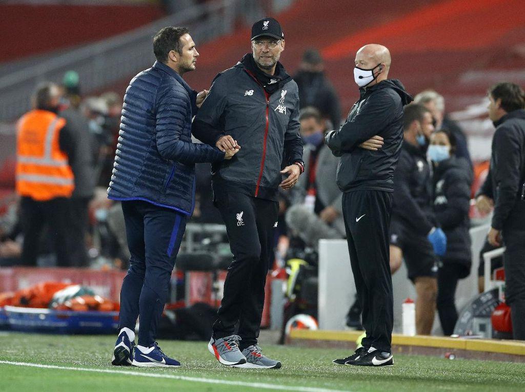 Marah-marah di Laga Liverpool Vs Chelsea, Frank Lampard Menyesal
