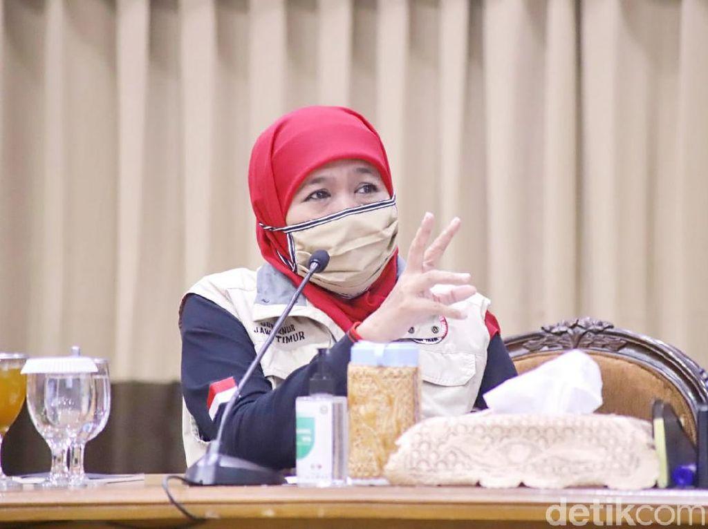Gubernur Khofifah Bolehkan Salat Idul Adha Tapi Wajib dengan Protokol Kesehatan