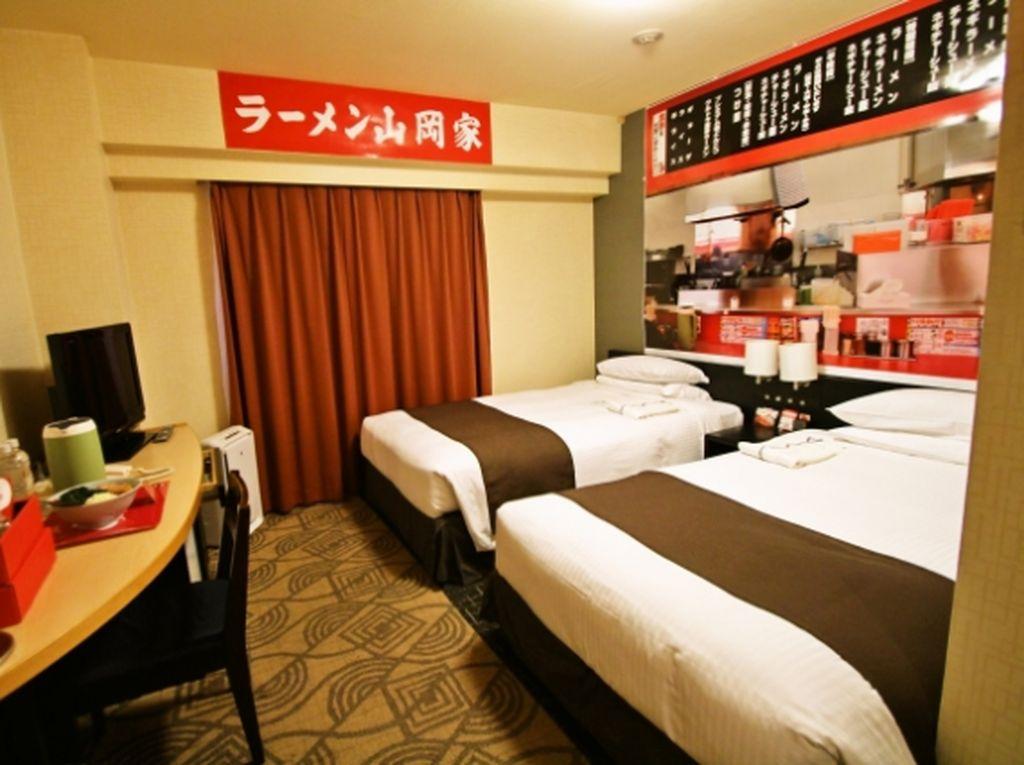 Unik! Jepang Punya Hotel Ramen yang Didirikan Resto Ramen Terkenal