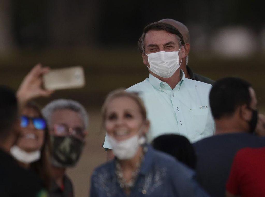 Sembuh dari Corona, Presiden Brasil Tegaskan Tak Ada yang Perlu Ditakutkan