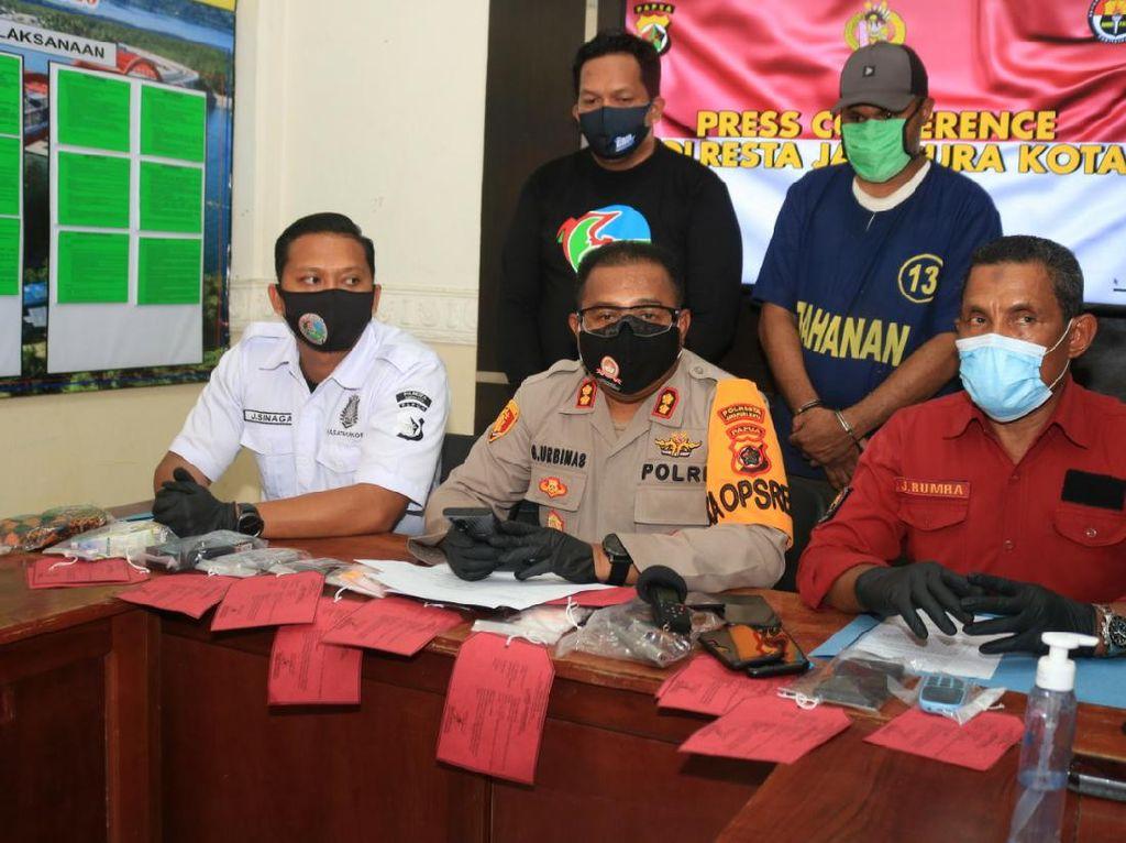 Miliki Sabu dan Senpi, Residivis Narkoba Ditangkap Polisi Jayapura