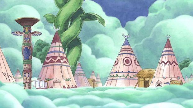 Karakter One Piece Pulau Langit