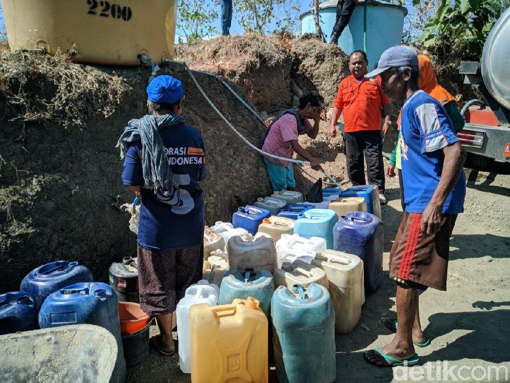 Dua Desa di Ponorogo Kekeringan, Minta Pasokan Air Bersih