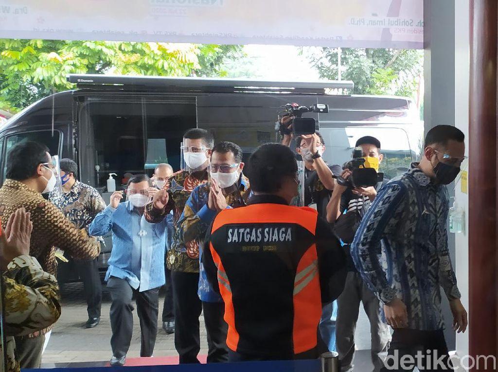 AHY Sambangi DPP PKS, Silaturahmi-Bahas Isu Kebangsaan