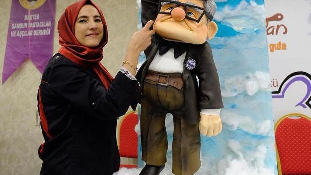 10 Realistic Cake Mirip Karakter Animasi Buatan Baker Asal Turki