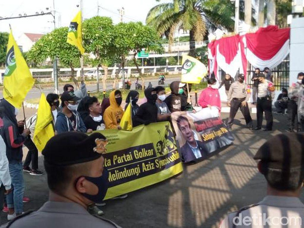 Azis Syamsuddin Didemo karena Tolak RDP Djoko Tjandra