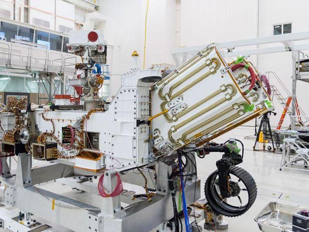 Tenaga Nuklir Dipasang, NASA Siap ke Mars Susul UEA dan China