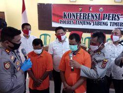 Bakar Lahan Kosong untuk Dijadikan Kebun, 2 Pria di Jambi Ditangkap