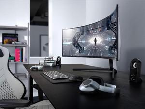 Samsung Rilis Monitor Lengkung dengan Teknologi Pertama di Dunia