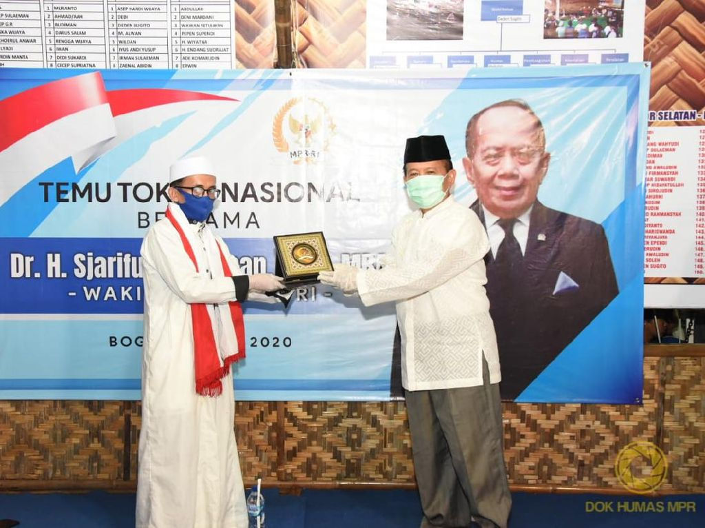 Pimpinan MPR Ajak Masyarakat Jaga dan Lestarikan Pancasila