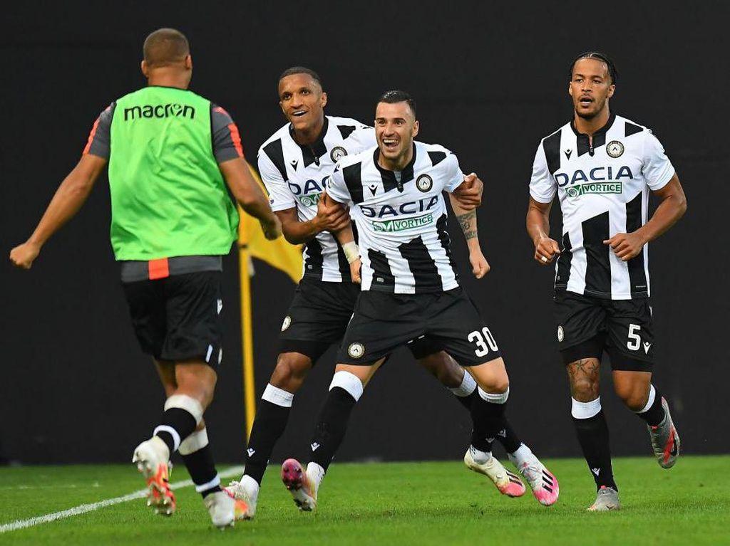 Udinese Vs Juventus: Bianconeri Tumbang 1-2