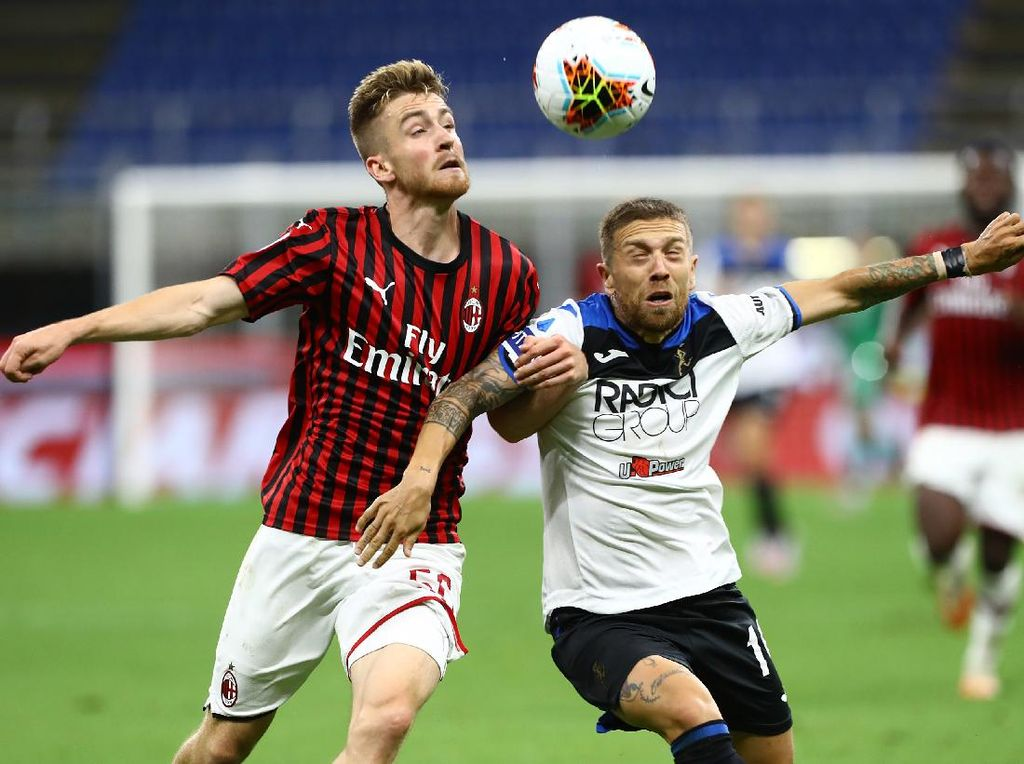 Milan Lagi Oke, Atalanta Terima Hasil Seri
