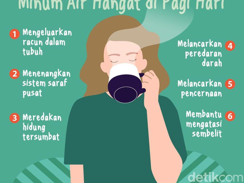 Biasakan Minum Air Hangat di Pagi Hari, Ini 6 Manfaatnya