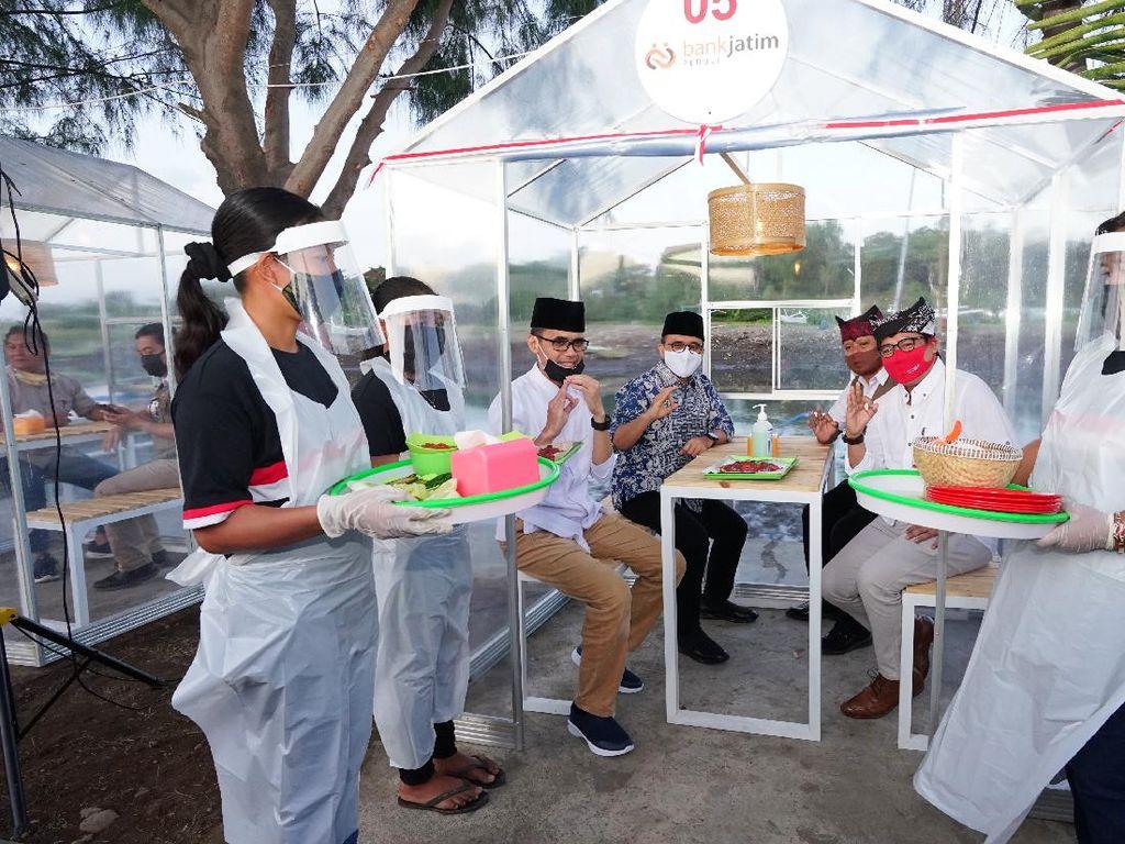 Banyuwangi Sulap Kawasan Kumuh Jadi Destinasi Kuliner Pondok Trawang