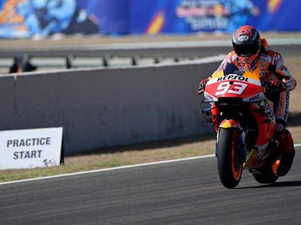 Seret Prestasi, Honda Disebut Kembangkan Motor Hanya untuk Marquez