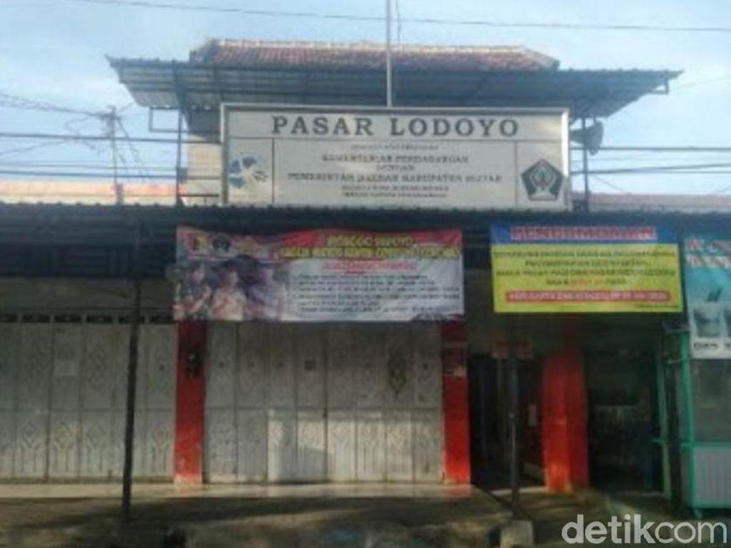 Tiga Pedagang Positif COVID-19, Pasar Lodoyo Blitar Ditutup Dua Hari