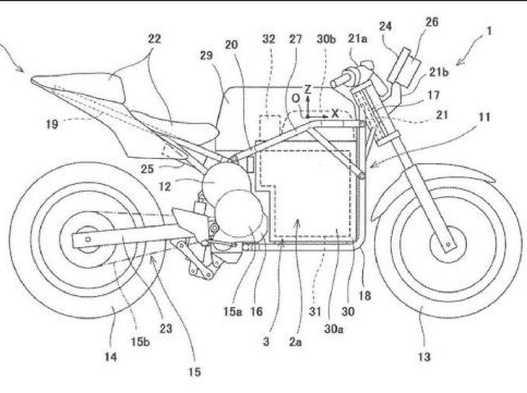 Kawasaki Makin Serius Garap Motor Listrik Sport!