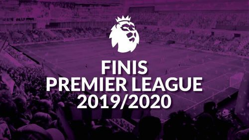 Finis Premier League 2019/2020