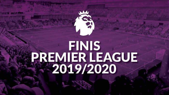 Finis Premier League 2019/2020