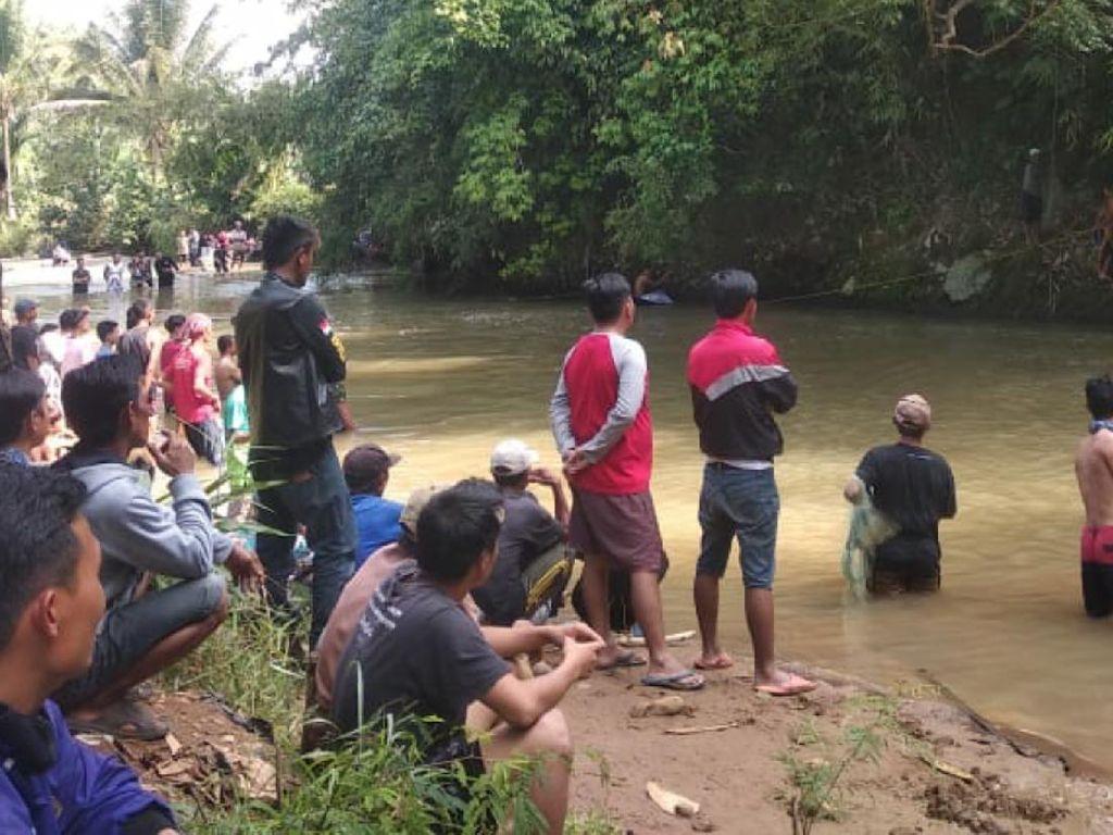 Remaja Asal Sukabumi Hilang Saat Mandi di Sungai Citarik